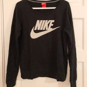 Black and White Nike Sweatshirt